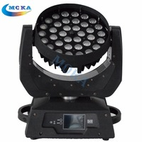 2pcs/lot 36*10W RGBW Beam Stage Lighting LED Moving Head Light 4 in1 Led Wash Lighting with Flight Case