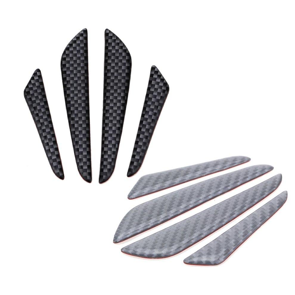 Universal Carbon Fiber Car Door Edge Guard Strip Scratch Protector Anti-collision Corner Bumper Protective Strip Decoration