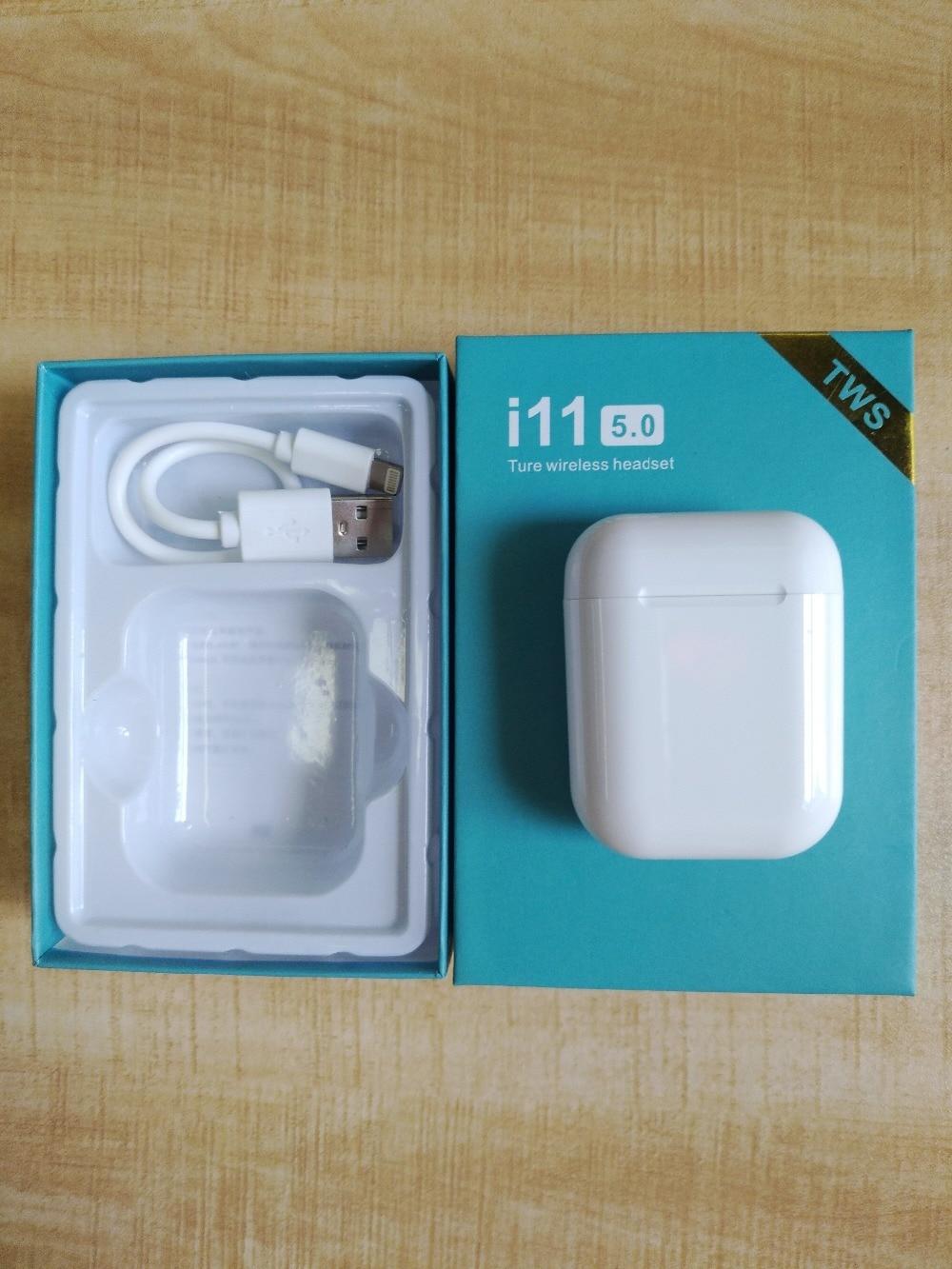 Original I11 Tws I9s Tws I10max Earphone 1:1 TWS Wireless Bluetooth 5.0 Earphone Super Bass Stereo Earbud For Iphone Android