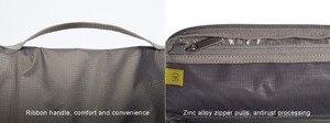Image 5 - Original Xiaomi Washing Gargle Cosmetic Bag 3L Capacity Women Makeup Cosmetic bag Handbag Travelling Bag Men Wash Bag Waterproof