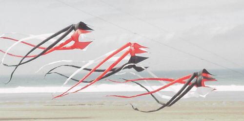 Le nouveau pendentif cerf-volant 3d doux est facile à voler