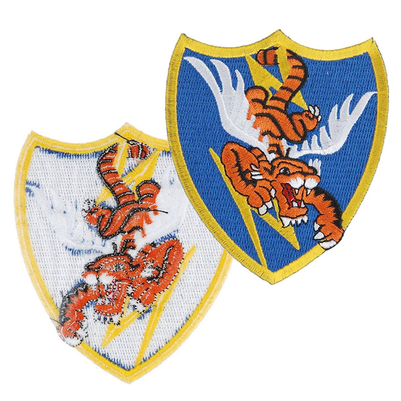 Superior Men Brooches Pins Vintage Ww2 Us AIR Force Flying Tigers Avg Badge Patch Accessories Classic Army Fans Collection SL