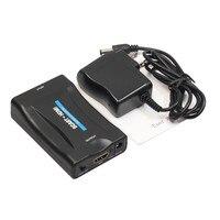 SıCAK Marka 1080 P HDMI Upscaler SCART Video Ses Dönüştürücü HDTV STB VHS XBox PS3 Sky DVD