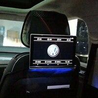 Автомобиль ЖК дисплей монитор с DVD плеер Android Bluetooth подголовник Entertainment Системы для Volkswagen Touareg авто Экран