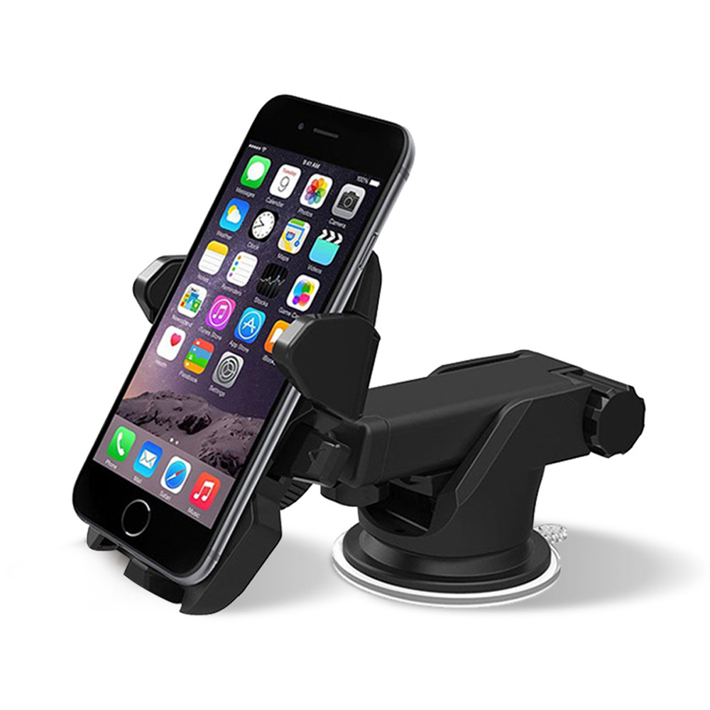 Auto Black GPS Stand Car Air Vent Mount Cradle Holder Stand For Mobile Smart Cell Phone Anti-Slip bracket 2017 universal 360 degree rotation car dashboard magic anti slip mat mount car holder cradle stand bracket for mobile phone gps