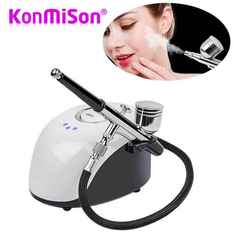 Facial SPA Sprayer Machine Nano Mister Face Steamer Water Spray Facial Skin Rejuvenation Oxygen Injection Nebulizer Beauty Salon