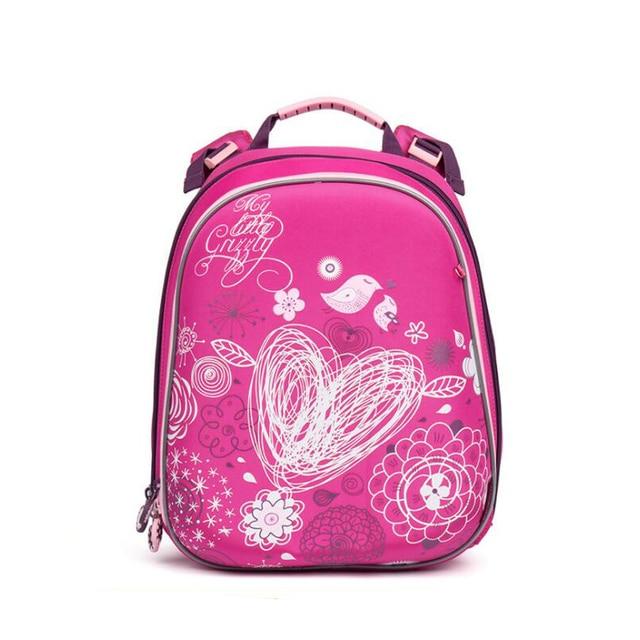 95a70e933b 2017 NEW Waterproof Orthopedic Children School Bags For Teenagers Girls  Cartoon Geometric flower Prints Kids School Backpacks