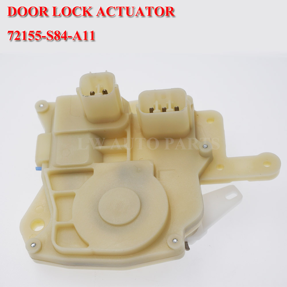 72155-S84-A11 Front Left Power Door Lock Actuator For Honda Civic 72155-S5A-A01