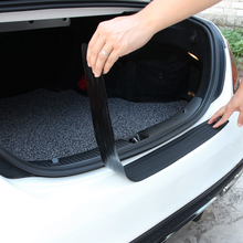 Cubierta protectora de parachoques trasero para coche, cubierta protectora de desgaste de alféizar para VW Jetta Passat Golf POLO para Skoda Octavia A5 A7 Fabia Superb para Audi A3 A4 A6