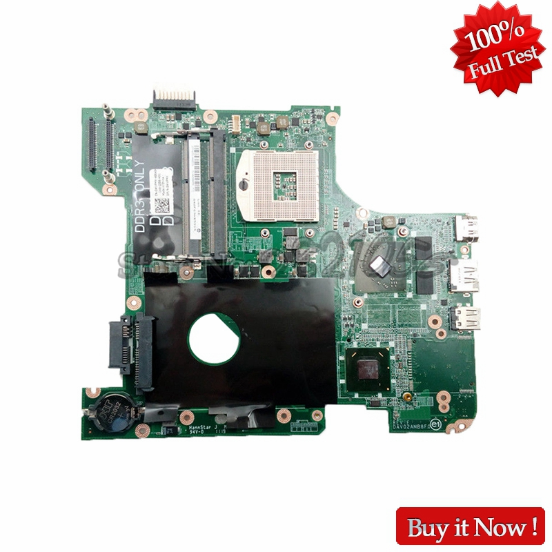 NOKOTION CN-0WVPMX 0WVPMX DAV02AMB8F0 PC Main Board For Dell inspiron N4110 Laptop Motherboard high quanlity laptop motherboard fit for dell vostro 3500 cn 0pn6m9 0pn6m9 pn6m9 mother board