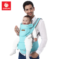 DIGUMI 3 In 1 Child Hipseat Prevent O Type Legs Loading 20Kg Baby Carriers Ergonomic Backpacks