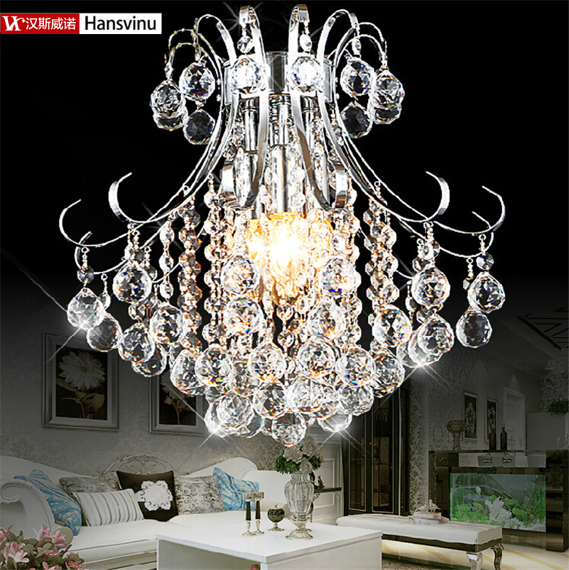 Wholesale Free Shipping Large Crystal L Ball Lamp Lustre