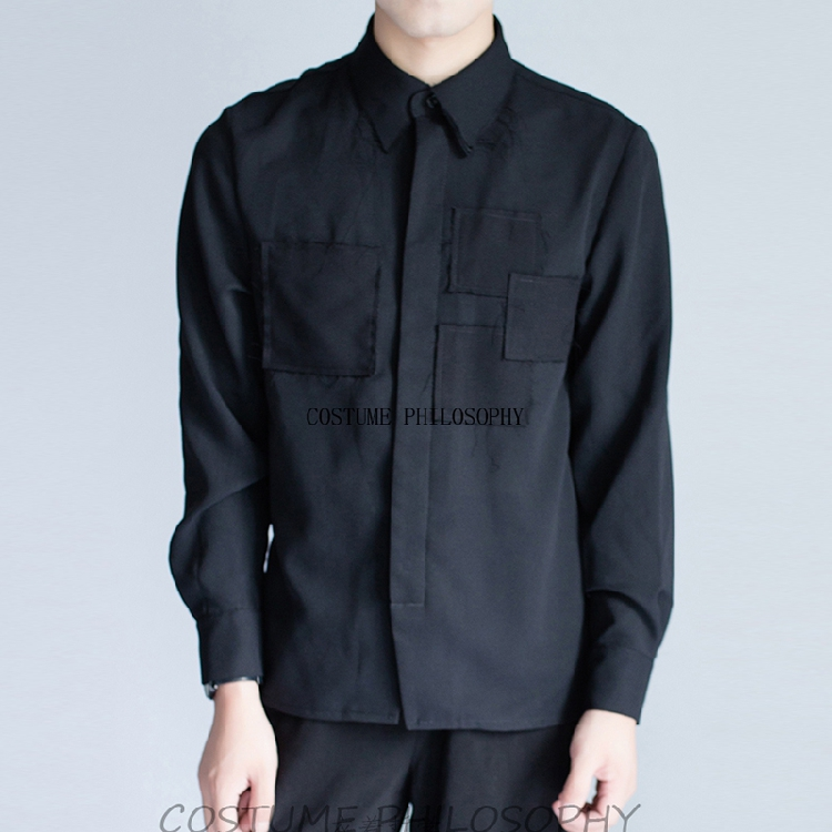 Homemade New 2018 New Men's Shirts With Original Woolen Edges For Leisure.       S-6XL!!