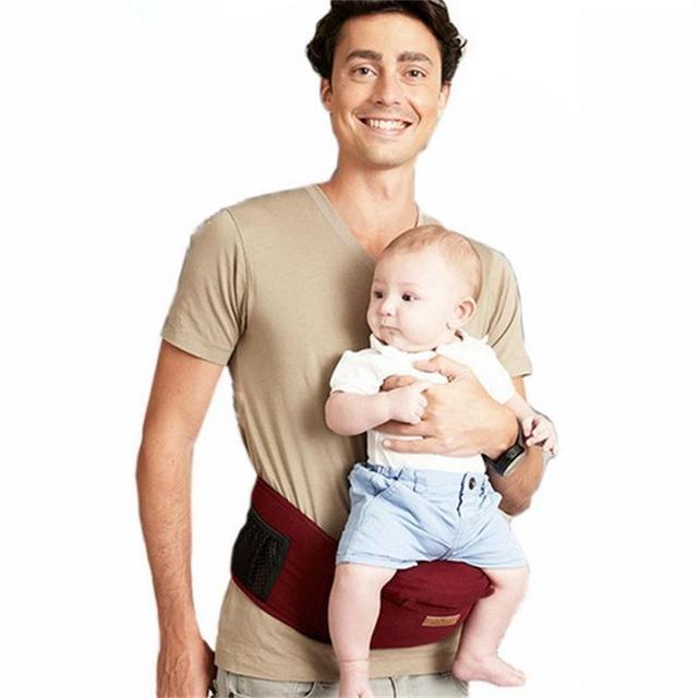UNIKIDS Porta Bebé 2015 Nuevo Diseño de La Cintura Heces Walkers Del Bebé Honda Hold Cintura Cinturón Mochila Hip Asiento Hipseat Cinturón Niños Infantil B