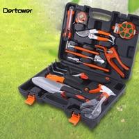 12 Pcs/Lot Garden Tool Sets Combination Of Gardening Tools Aluminum Alloy Garden Spade Household Composition Set