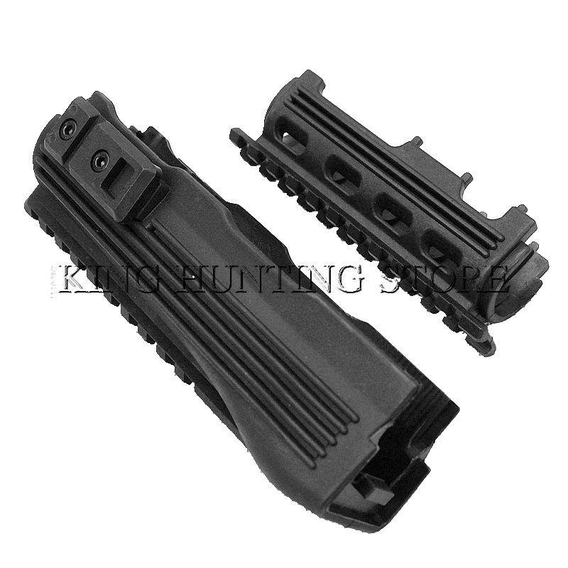 Free Shipping AK Series Handguard Upper lower Rails inserts Tactical Hunting Rifle Accessories AK 47 104 Strikeforce Polymer(China)