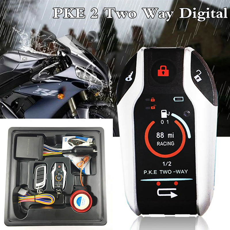 Universal Models Various Motorcycle Two-way Alarm System Scooter Anti-theft Device Alarm Remote Engine Start Stop Motorcycles