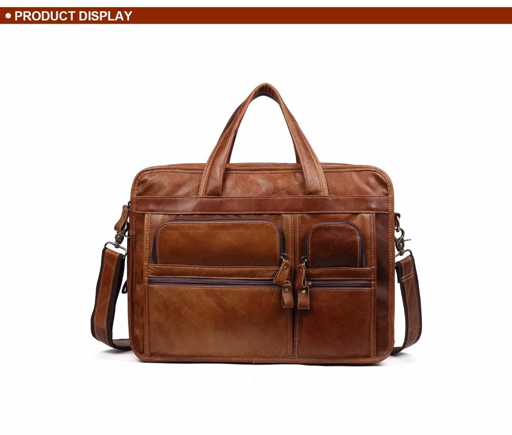 HTB1nnRtkRfH8KJjy1Xbq6zLdXXaz JOYIR Genuine Leather Men Briefcases Laptop Casual Business Tote Bags Shoulder Crossbody Bag Men's Handbags Large Travel Bag