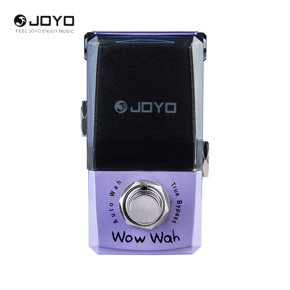 JOYO Ironman Series JF-322 Wow Wah Auto Wah Mini Electric Guitar Effect Pedal Box Guitar Parts joyo jf 320 ironman series electric guitar mini effect pedals purple storm fuzz pedal