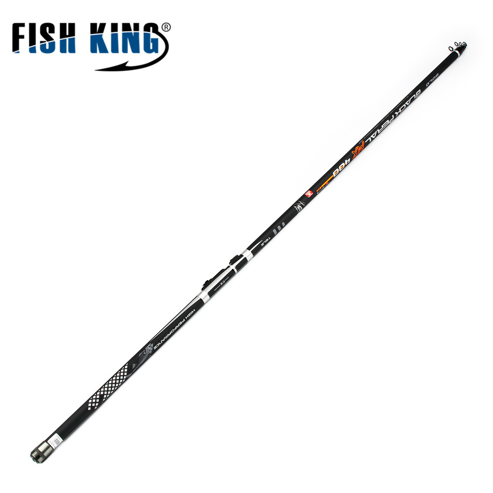FISH KING Rock Fishing Rod 4-6Sces Contraction length122-125cm Bolognese Rods Carbon Material Light Fishing Ocean Fishing Rod carbon fibre rock iso fishing rods ceway ys 6 plus fishing tackle fish poles telescope iso pole bolognese rod free shipping
