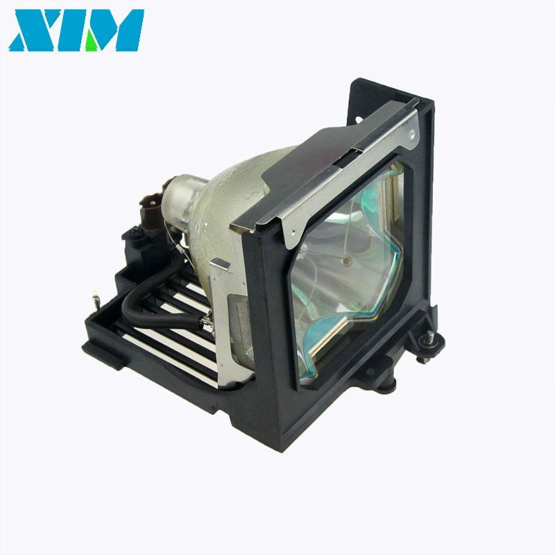 For Sanyo PLC-XT10A/PLC-XT11/PLC-XT15KA/PLC-XT16/PLC-XT3000 Projector/TV Bare Lamp with Housing POA-LMP59/610-305-5602 plc d200ezm100