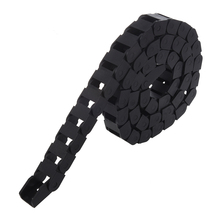 1M Long Blk Plastic Towline Cable Drag Chain 10 x 15mm