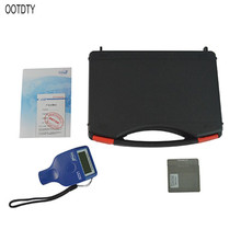 OOTDTY Paint Coating Thickness Tester 0-2000μm 0.1μm Fe NFe Probe Gauge LS220 for Auto Car gy910 handheld digital coating thickness gauge tester fe nfe coatings lcd display