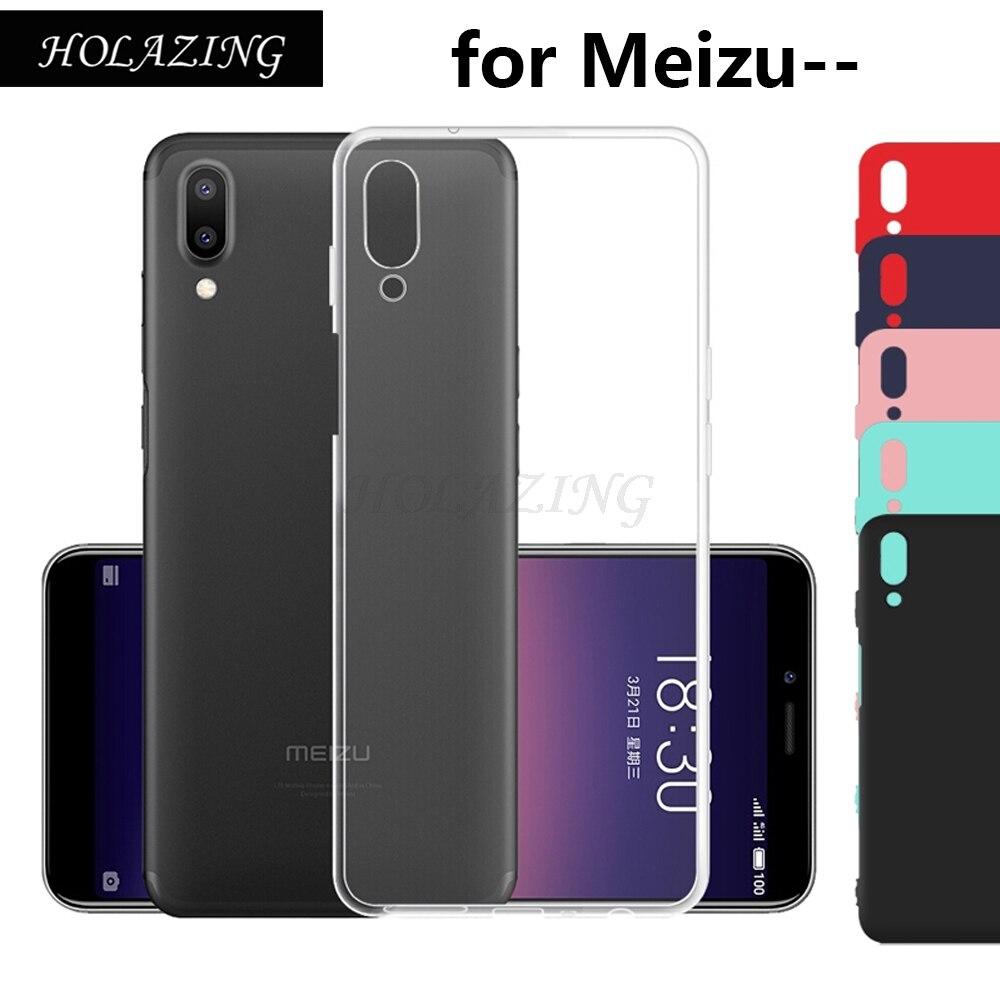 Анти-палец нуля Прозрачный мягкий силиконовый чехол для Meizu E3 E2 Pro 7 плюс 15 плюс M15 lite Тонкий кожного покрова