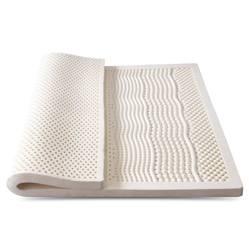 Natural Latex Mattress Japan Tatami Mat Cervical Vertebra Neck Protector 7 Zone Pressure Release Single Double Size Mattress