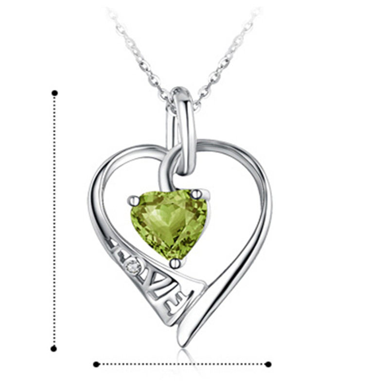 925 silver necklace female pendant silver jewelry chain birthday gift girlfriend gifts el asesino hipocondriaco