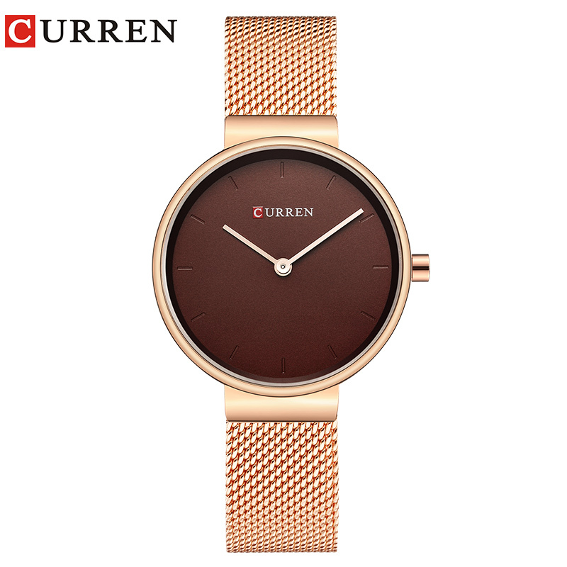 CURREN Women's Watch New Quartz Top Brand Luxury Fashion Wristwatches Ladies Gift Wholesale women wrist watch relogio feminino