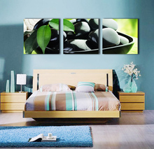 3 Pieces free shipping Canvas Art Paintings Printed Pretty stone Wall Print Home Decor For Living Room