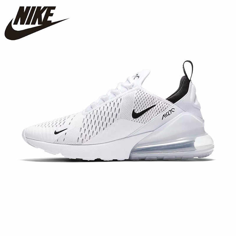 e73a213174350 Nike Air Max 270 180 Running Shoes Sport Outdoor Sneakers White Comfortable  Breathable Cushioning for Men