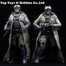1:6 Soldier Clothes Set 1/6 BVS Batman Desert Combat Set Fight Clothing Suits For 12 Inches HT Figures 1 6 the navy seal cqb combat tactical clothes set for 12 bodies