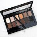 2016 Newest Super Warm Nude 12 Colors Earth Eye Shadow Makeup Matte Shimmer Eyeshadow Smokey Eyeshadow Palette Cosmetic Makeup