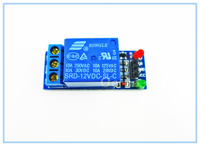 2PCS DC 12V Relay Module 1 channel 1 Channel High Level Trigger ...