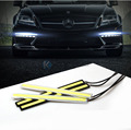 1Pcs Car styling Ultra Bright 17cm 12W LED Daytime Running lights DC 12V 100% Waterproof Auto Car DRL COB Driving Fog lamp