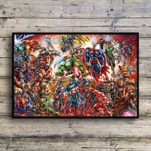 New Diamond Painting Super Hero Marvel Avengers 5D DIY Embroidery Home Decoration Paintings