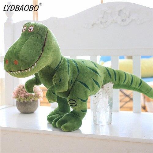 70cm Giant Cartoon Dinosaur Hobbies Stuffed Plush Doll Kids Cute Tyrannosaurus Animal Soft Pillow Figure Toy Baby Birthday Gifts