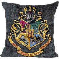 Best Harry Potter Hogwarts School Sign Pillowcase 45x45 Cm Zippered Pillow Cover