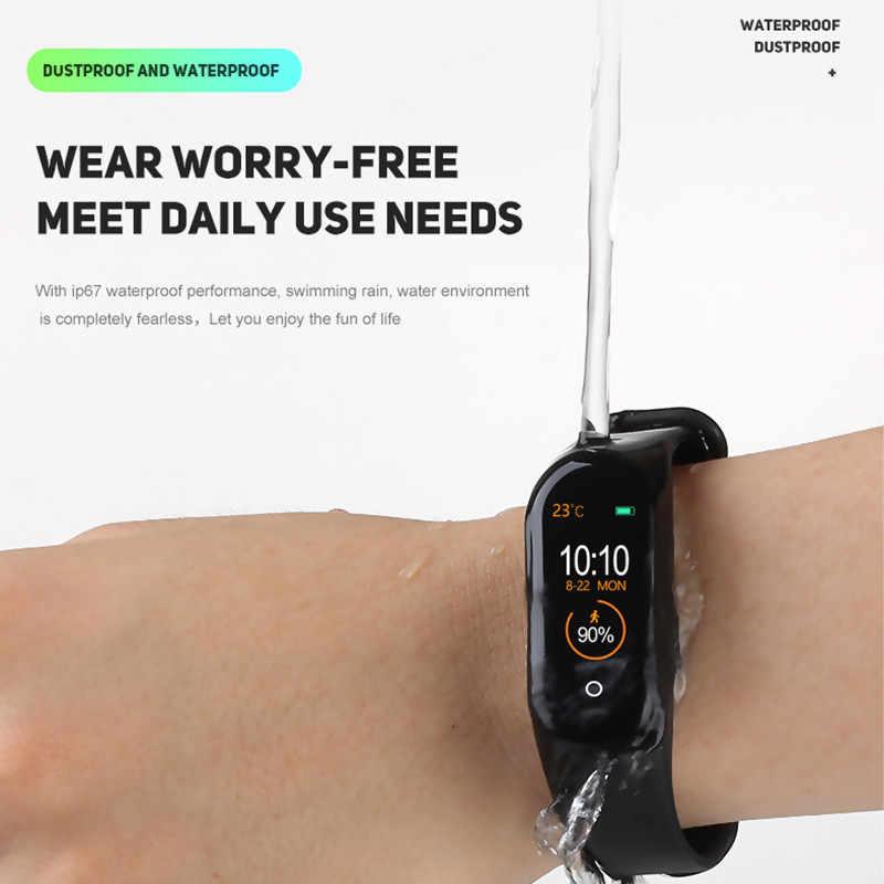 M4 smart band fitness tracker waterdichte armband hartslag bloeddruk monitoring fitness smart armband PK mi band 4