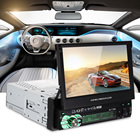 Universal 7 inch Retractable Touch Screen Car Multimedia Player Bluetooth AM FM Radio Mirror Link Car MP5 Players Remote Control
