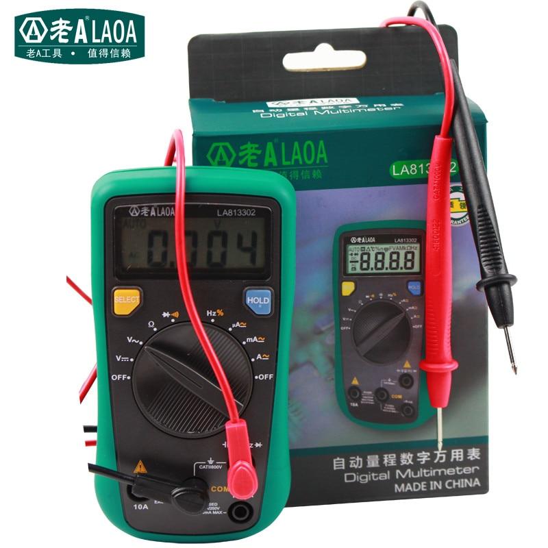 ФОТО LAOA LCD Automatic range Electrical Tester Digital Multimeter AC/DC Amperemeter LA813302
