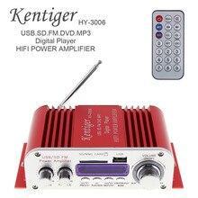 Продажи мини-12 В мини Hi-Fi стерео Мощность Усилитель цифровой Дисплей аудио плеера с Пульт дистанционного Управления Поддержка USB/ FM/MP3