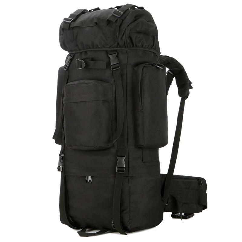 Открытый водонепроницаемый 80L военный рюкзак тактическая сумка спортивная походная дорожная сумка рюкзак охотничий рюкзак Военная Сумка - 2