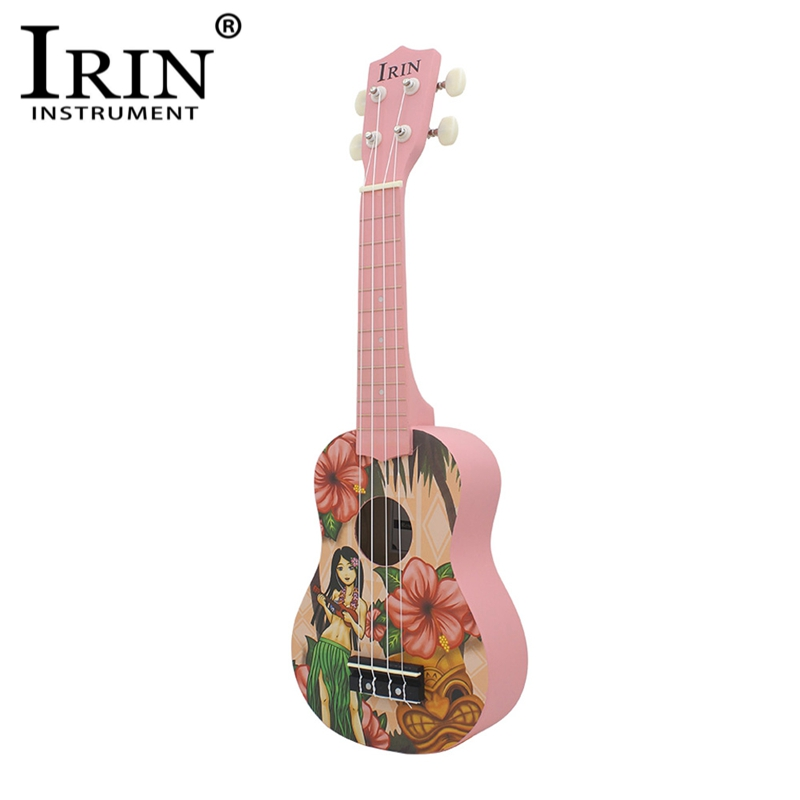 IRIN 21 Ukelele Basewood Body Fretboard 4 Strings Hawaii Guitarra Stringed Musical Instrument Ukulele For Beginners