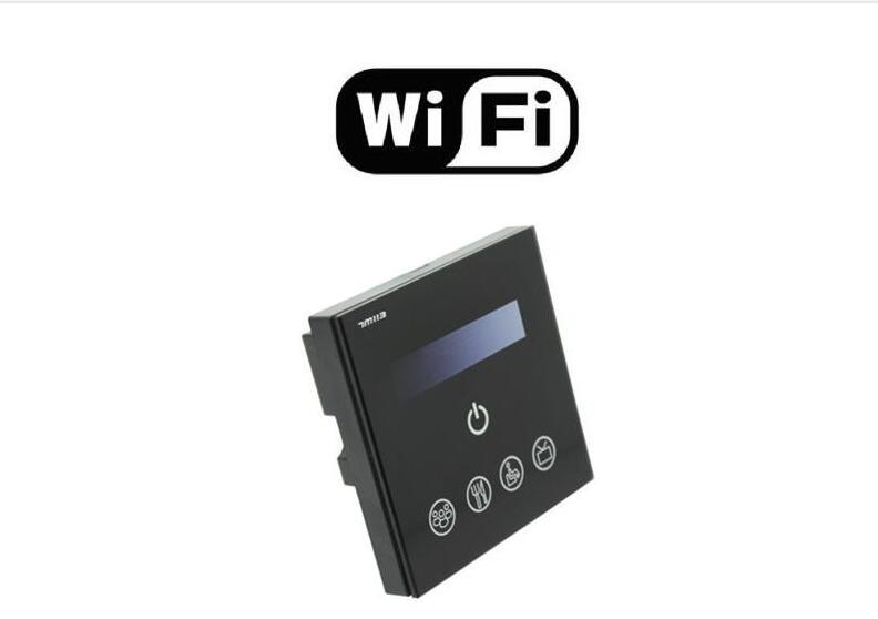 Livraison gratuite 0-10 v gradateur, wifi écran tactile gradateur lumière interrupteur 15 pcs/lot