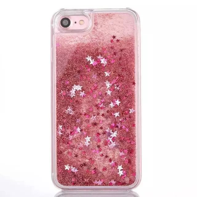 online retailer a3875 e80d9 US $3.3  HYXXTE Quicksand Liquid Case for iPhone 7 6 6S Plus 3D Bling  Glitter Sparkle Cute Flowing Floating Moving Sand Hard Clear Cover-in  Fitted ...
