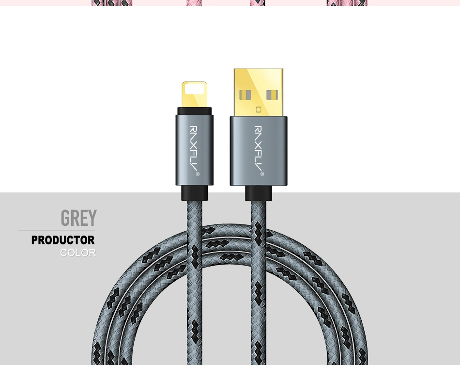 USB Cable For iPhone 7 6 6S Plus 5 5S SE Charger Cables 1M 2M Durable Nylon Accessories  (11)