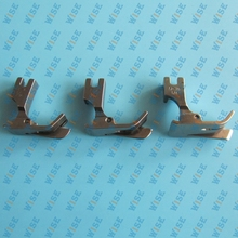3 pcs.INDUSTRIAL SEWING MACHINE HINGED RIGHT GUIDE FEET JUKI CONSEW SP-18
